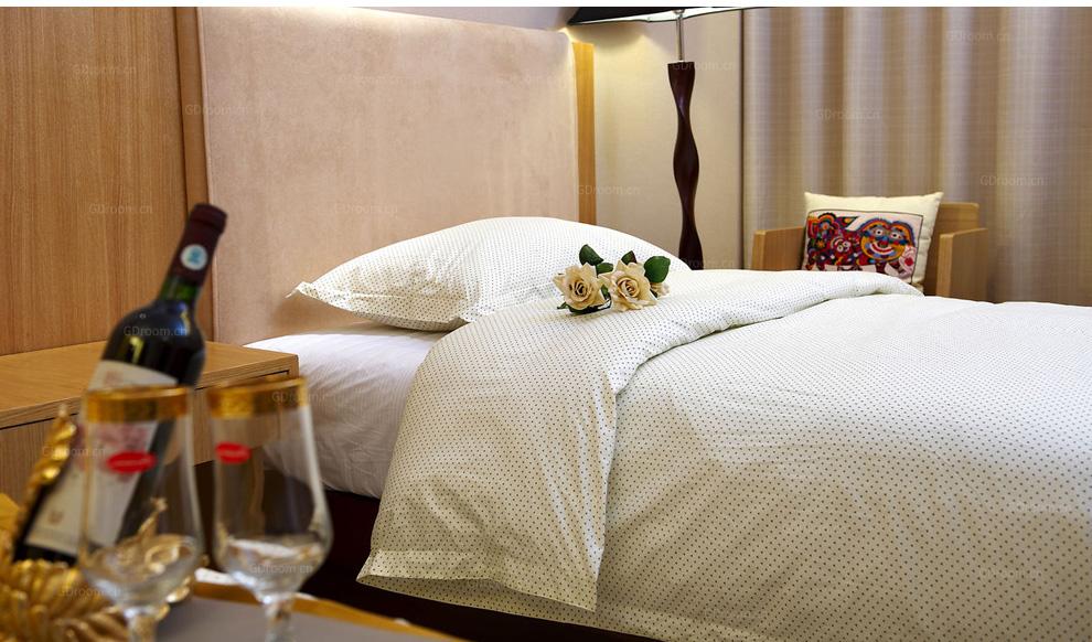 酒店宾馆纯棉床品套件