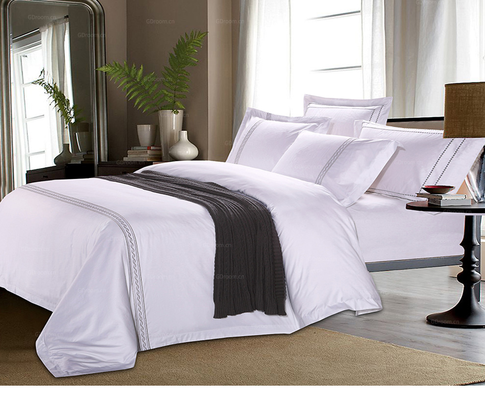 五星酒店 特色床品套件