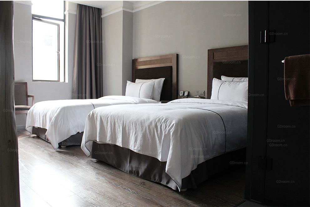酒店 白色床品四件套
