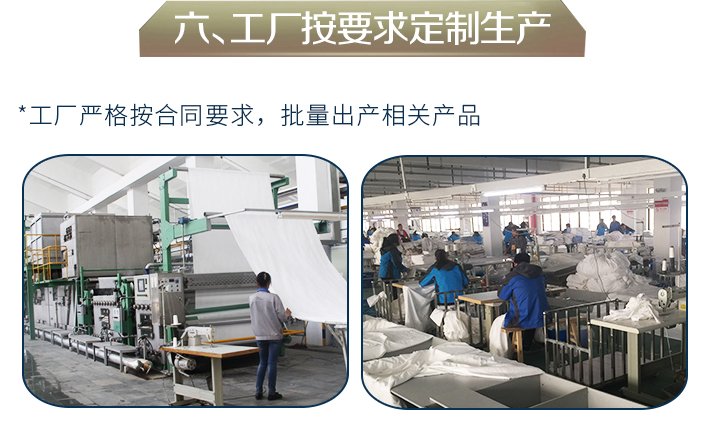 工厂按要求生产